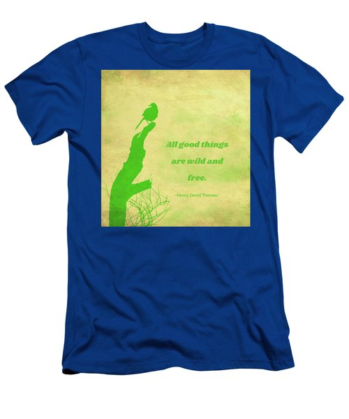 Men's T-Shirt (Athletic Fit) featuring the photograph All Good Things by Judy Kennedy
