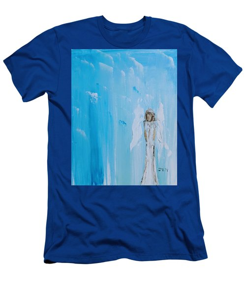 Angel Of Simplicity Men's T-Shirt (Athletic Fit)