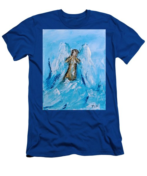 Angel With A Purpose Men's T-Shirt (Athletic Fit)