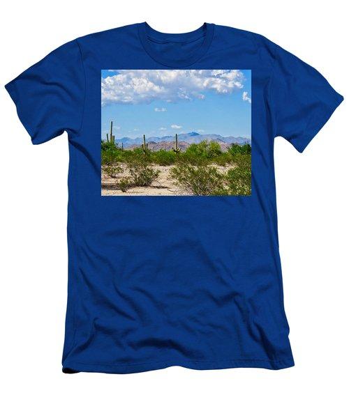 Arizona Desert Hidden Valley Men's T-Shirt (Athletic Fit)