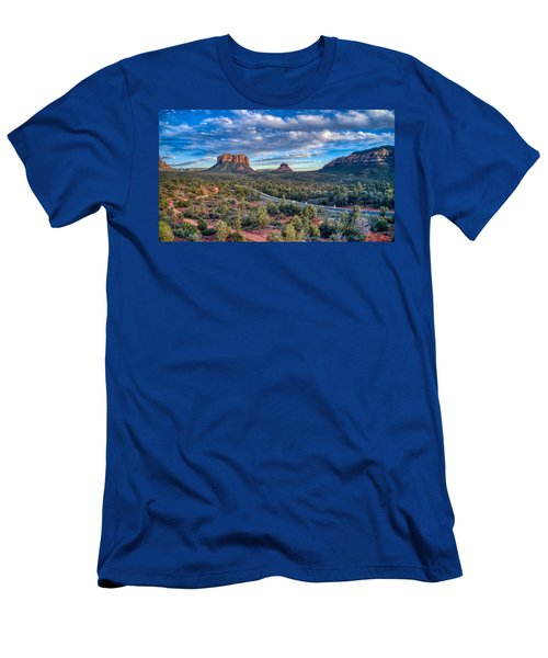 Bell Rock Scenic View Sedona Men's T-Shirt (Athletic Fit)