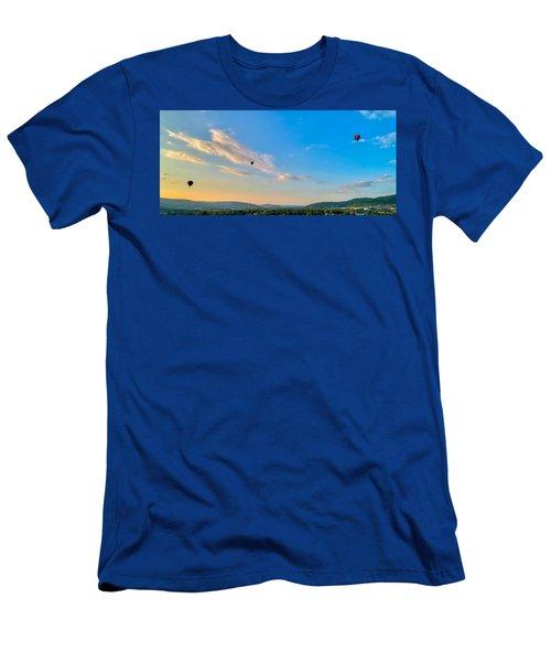 Binghamton Spiedie Festival Air Ballon Launch Men's T-Shirt (Athletic Fit)