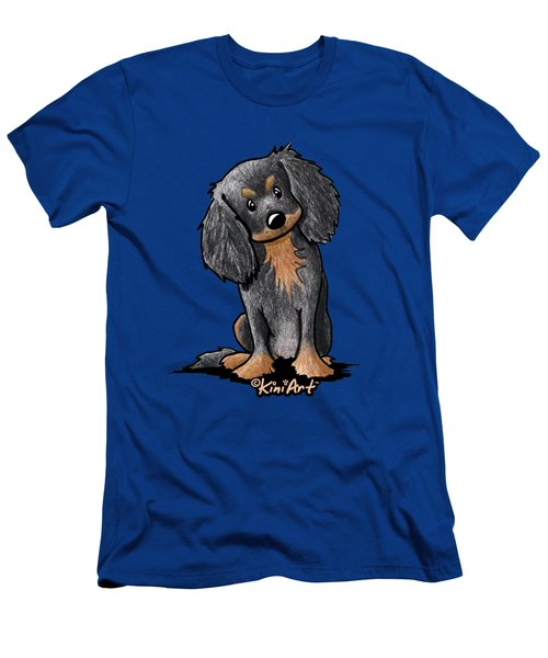 Black And Brown Ckc Spaniel Men's T-Shirt (Athletic Fit)