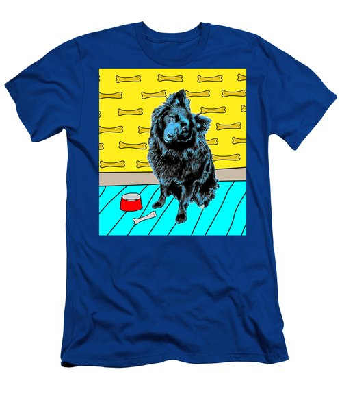 Men's T-Shirt (Athletic Fit) featuring the photograph Blue Dog by Lou Novick