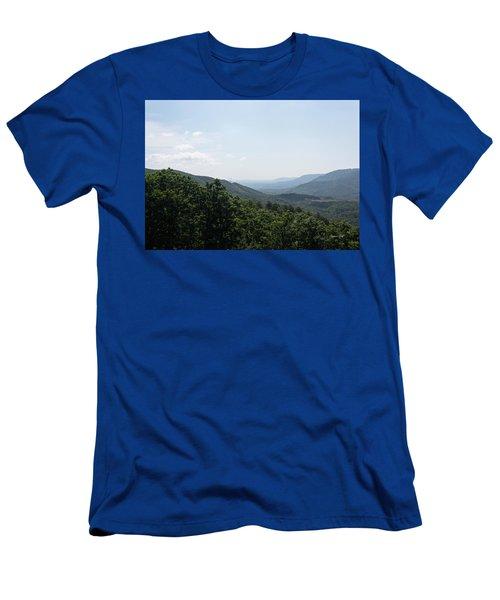 Blue Ridge Mountain Views Men's T-Shirt (Athletic Fit)