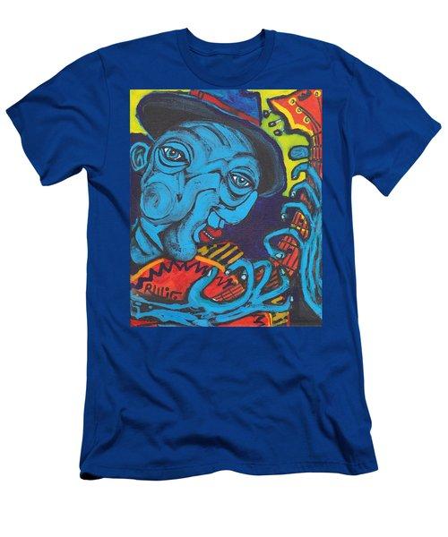 Blues Dude Men's T-Shirt (Athletic Fit)