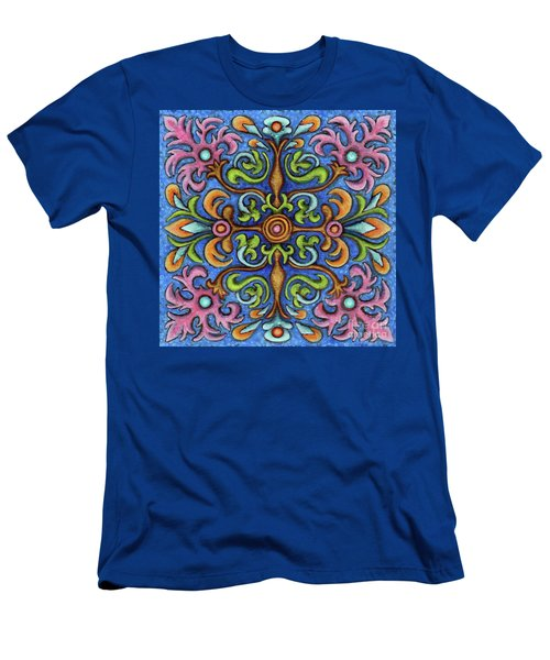 Botanical Mandala 2 Men's T-Shirt (Athletic Fit)