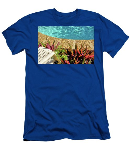 By The Pool Men's T-Shirt (Athletic Fit)