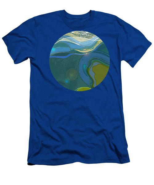 By The Sea Men's T-Shirt (Athletic Fit)