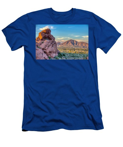 Camelback Mountain  Men's T-Shirt (Athletic Fit)