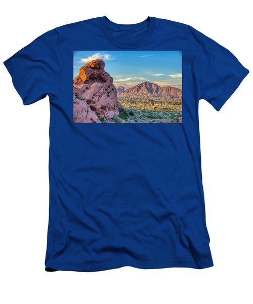 Camelback Mountain  Men's T-Shirt (Athletic Fit)