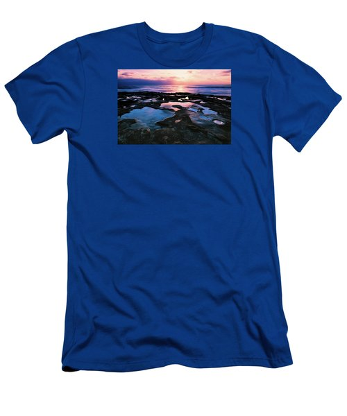 Candy Colored Pools Men's T-Shirt (Athletic Fit)