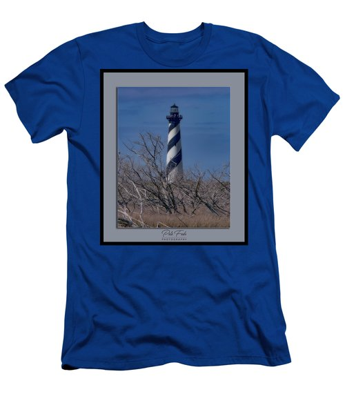 Men's T-Shirt (Athletic Fit) featuring the photograph Cape Hatteras Lighthouse by Pete Federico