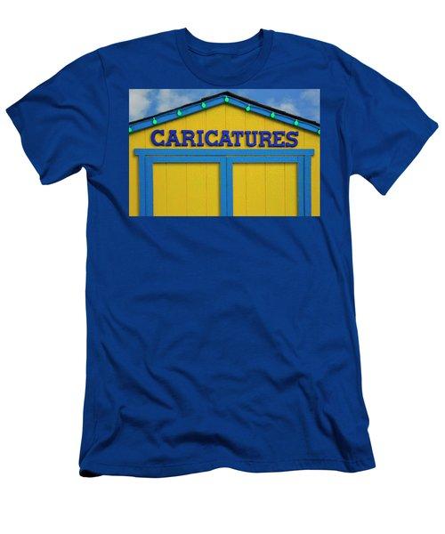 Caricatures Men's T-Shirt (Athletic Fit)
