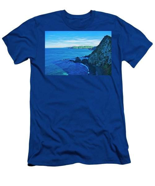 Men's T-Shirt (Athletic Fit) featuring the photograph Catlin Coast - New Zealand by Steven Ralser