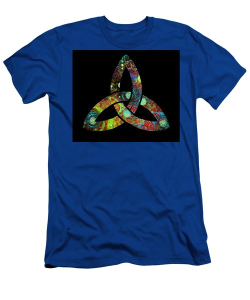 Celtic Triquetra Or Trinity Knot Symbol 1 Men's T-Shirt (Athletic Fit)