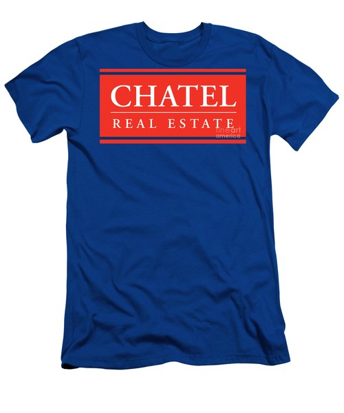 Men's T-Shirt (Athletic Fit) featuring the photograph Chatel Real Esate by Jost Houk