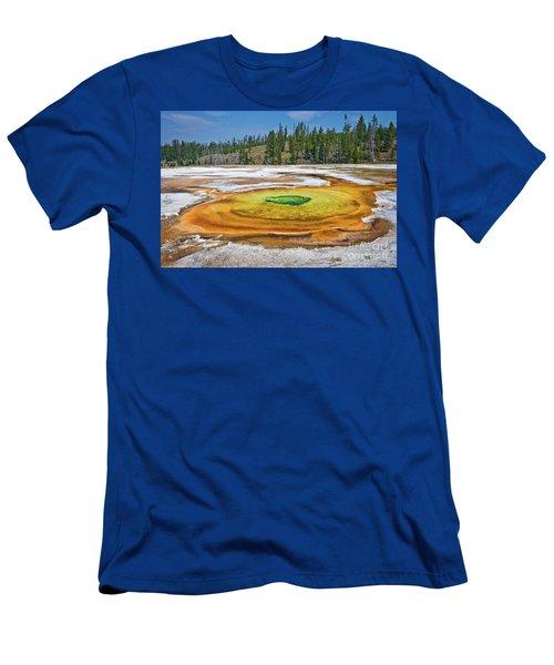 Chromatic Pool Men's T-Shirt (Athletic Fit)