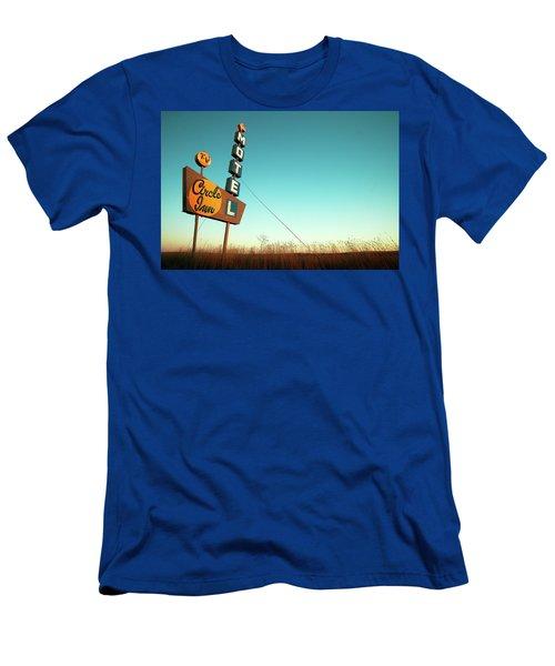 Circle Inn Color Men's T-Shirt (Athletic Fit)