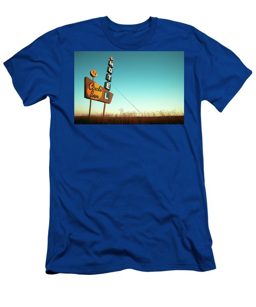 Men's T-Shirt (Athletic Fit) featuring the photograph Circle Inn Color by Todd Klassy