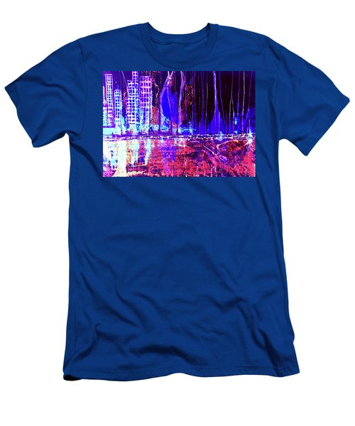 City By The Sea Right Men's T-Shirt (Athletic Fit)