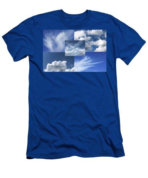 Cloud Collage Two Men's T-Shirt (Athletic Fit)