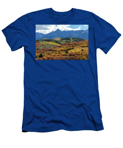 Men's T-Shirt (Athletic Fit) featuring the photograph Colorado Color Bonanza by James BO Insogna