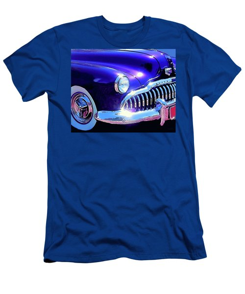 Custom 1949 Purple Buick Men's T-Shirt (Athletic Fit)