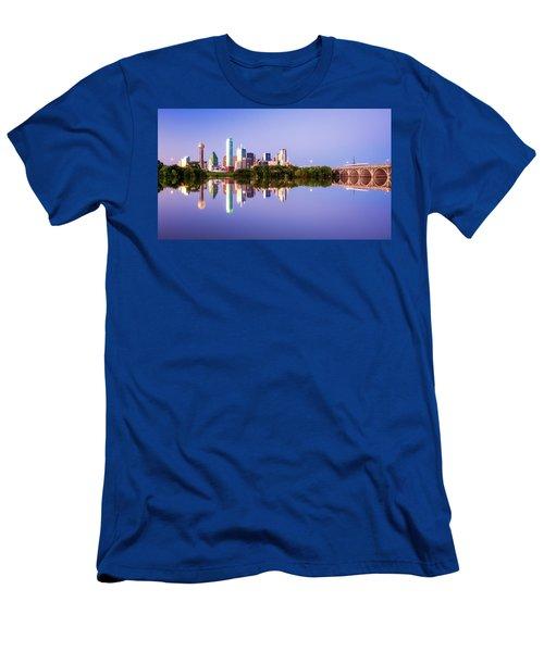 Dallas Texas Houston Street Bridge Men's T-Shirt (Athletic Fit)