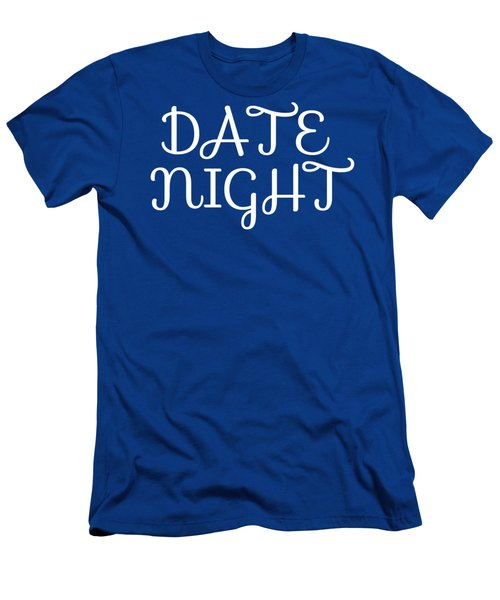 Men's T-Shirt (Athletic Fit) featuring the digital art Date Night by David Millenheft