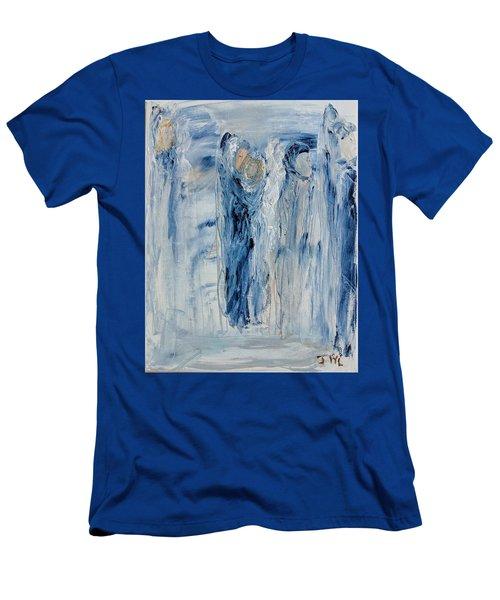 Divine Angels Men's T-Shirt (Athletic Fit)