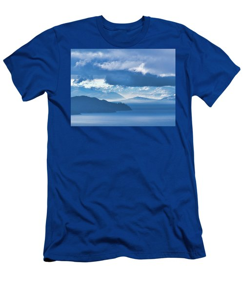 Dreamy Kind Of Blue Men's T-Shirt (Athletic Fit)