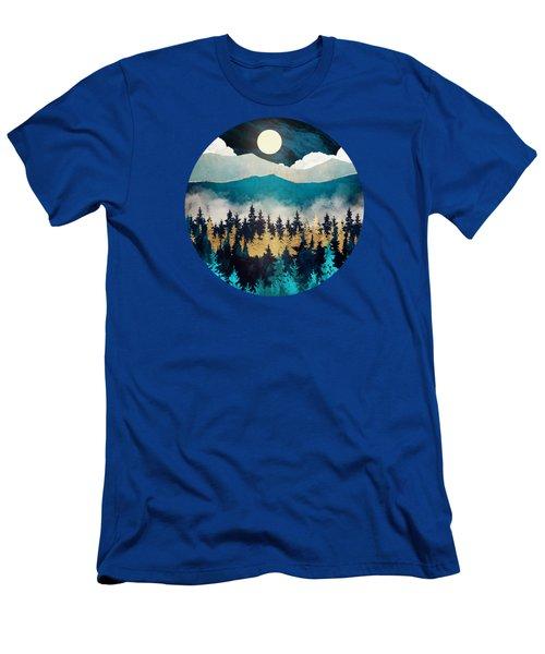 Evening Mist Men's T-Shirt (Athletic Fit)
