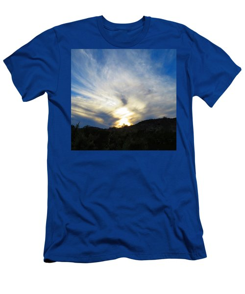 Men's T-Shirt (Athletic Fit) featuring the photograph Exuberant by Judy Kennedy