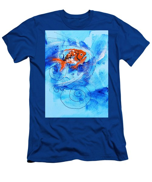 Fake Nemo Fish Men's T-Shirt (Athletic Fit)