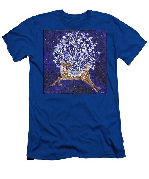 Fawn Bouquet Men's T-Shirt (Athletic Fit)