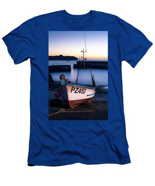 Fishing Boat In Mullion Cove Men's T-Shirt (Athletic Fit)