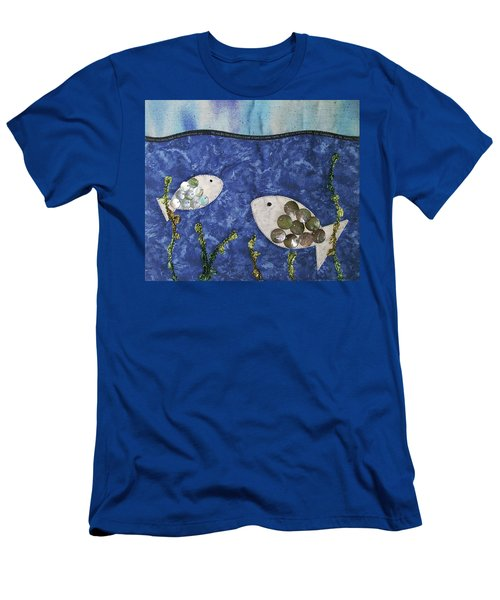 Fishy Fishy Men's T-Shirt (Athletic Fit)
