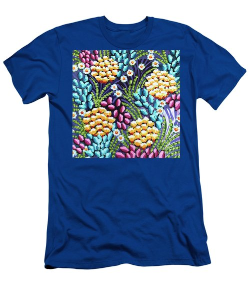 Floral Whimsy 2 Men's T-Shirt (Athletic Fit)