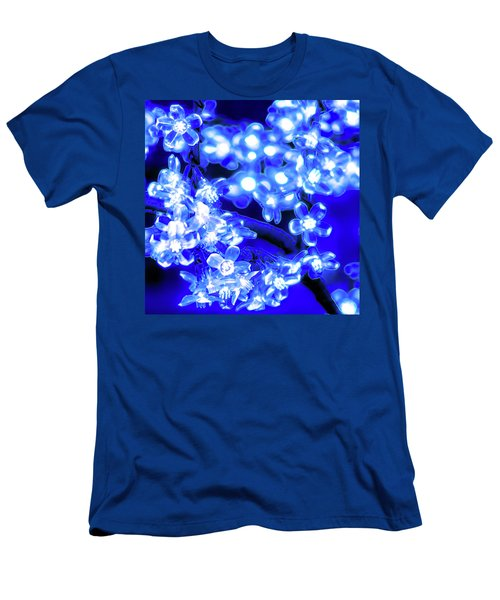 Flower Lights 1 Men's T-Shirt (Athletic Fit)