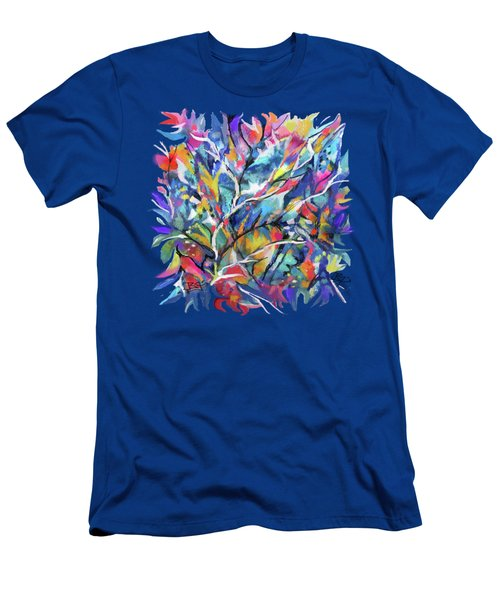 Flowered Vine Men's T-Shirt (Athletic Fit)