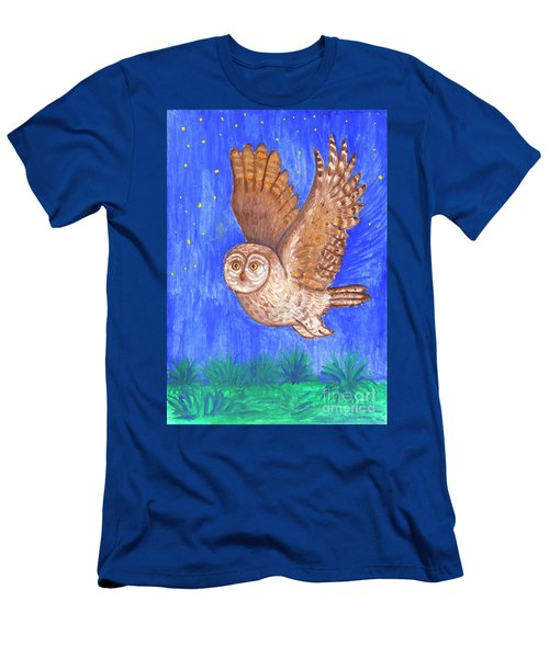 Flying Owl Men's T-Shirt (Athletic Fit)