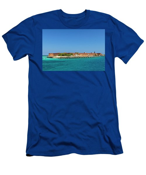 Fort Jefferson, Dry Tortugas National Park Men's T-Shirt (Athletic Fit)
