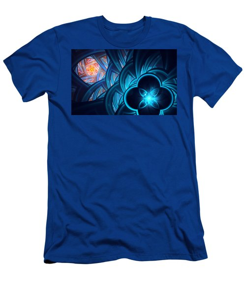 Fractal 1 Men's T-Shirt (Athletic Fit)
