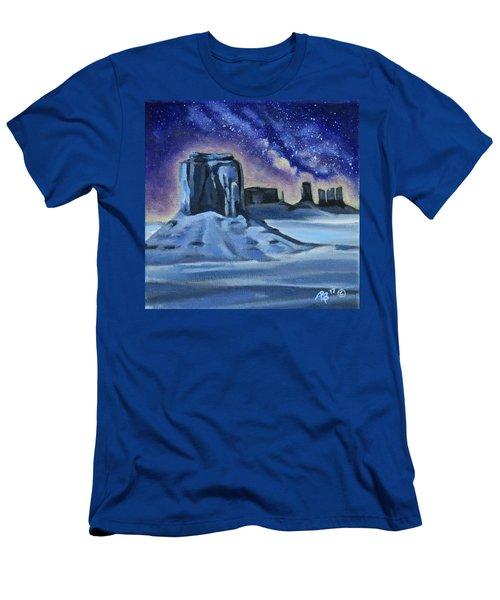 Galaxy Men's T-Shirt (Athletic Fit)
