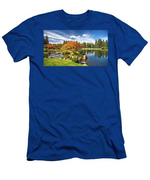 Garden Splendour Men's T-Shirt (Athletic Fit)