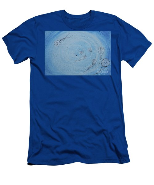 Men's T-Shirt (Athletic Fit) featuring the painting Going Deeper by Kim Nelson