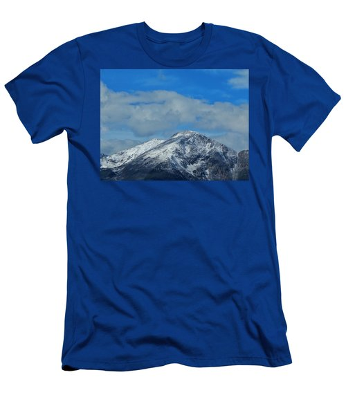 Men's T-Shirt (Athletic Fit) featuring the photograph Gore Range Mountains by Lukas Miller