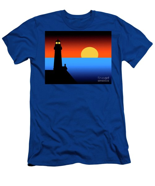 Guardian Lighthouse Men's T-Shirt (Athletic Fit)