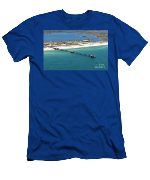 Gulf State Park Pier 7464n Men's T-Shirt (Athletic Fit)